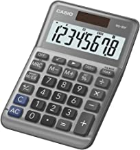CASIO MS-80B 8-Digit Standard Calculator, Tax & Exchange, Dual Power (MS-80F (New))