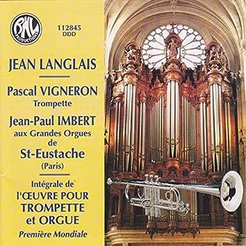 Intégrale de l'œuvre pour trompette et orgue