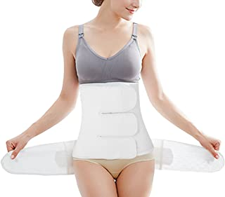 Chongerfei 3 in 1 Postpartum Support Recovery Belly Wrap Waist/Pelvis Belt Body Shaper Postnatal Shapewear