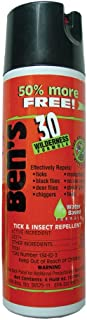 Ben'S 30% Deet Repellant 6oz Spray Wilderness Formula (3 Pack)