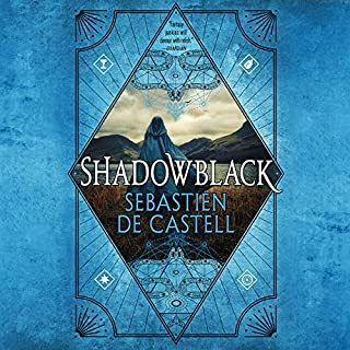Shadowblack audiobook cover art