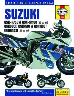 1987-1996 Suzuki Katana GSX 600 750 1100 GSXR GSXR750 GSXR1100 REPAIR MANUAL 2055
