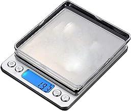 Balança digital de cozinha UPKOCH, Gramas digitais de peso para cozinhar sem bateria