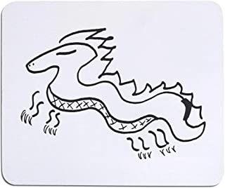 'Stylised Dragon' Mouse Mat / Desk Pad (MO00015927)