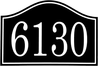 """Carvature House Numbers, House Number Plaque, Address Plaque House, Address Number House, Address Sign, House Number Sign, Address Plaque, House Number, Housewarming Gift, Wedding Gift, 11.5"""" x 7.5"""""""