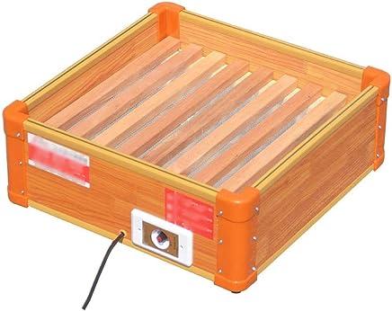 Ozktlife Calentador De Cinco Caras Tipo Grill Calentador De Brasero Nuevo Hogar Peque/ño Sol Vertical Asador Estufa El/éctrico Jaula Calentador,Red,Euplug