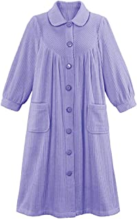 women's robe with buttons