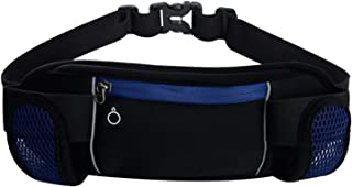 Coolpin Sport Waist Bag Fanny Pack with 2 Water Bottle Holder for Running Cycling Jogging