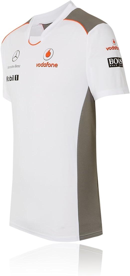 Vodafone McLaren Mercedes Team – Camiseta de Fórmula 1 ...