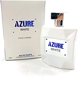 Mirage Brands Azure White pour Homme 3.4 Ounce EDT Men's Cologne | Mirage Brands is not associated in any way with manufacturers, distributors or owners of the original fragrance mentioned
