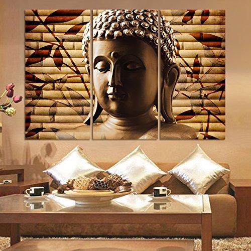 LIMITED EDITION BUDDHA LANDSCAPE 3 PIEZAS DE PINTURA TALLA 5