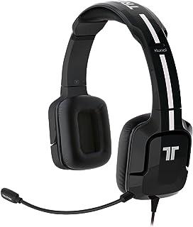 Tritton Kunai Auricular con micrófono Binaural Diadema Negro - Auriculares con micrófono (Consola de Juegos, Binaural, Diadema, Negro, Playstation 3, Playstation 4, PS Vita, Alámbrico)