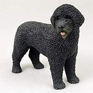 Ky & Co YesKela Portuguese Water Dog Figurine Hand Painted Statue
