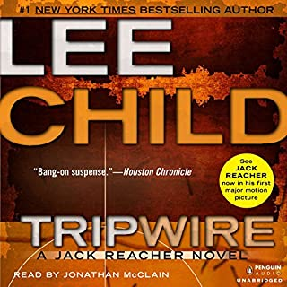 Tripwire audiobook cover art