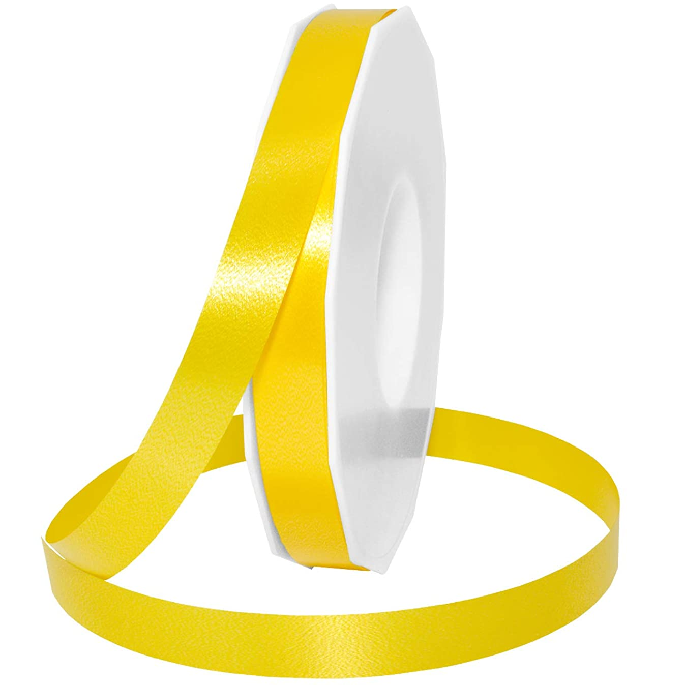 Morex Ribbon Style 187 Ribbon, 5/8 inch by 100 Yards, Yellow