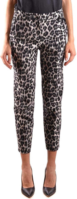 PINKO Women's 1B13EH7260ZZ1 White Black Polyester Pants