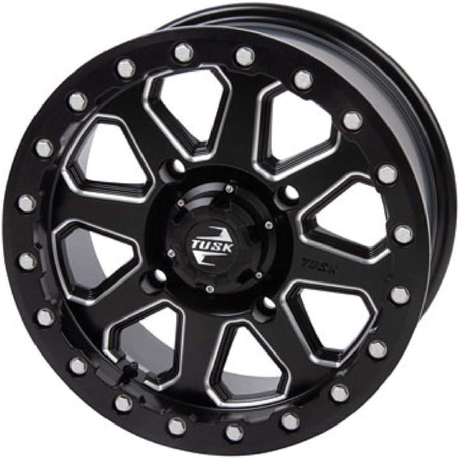 4/156 Uinta Beadlock Wheel 15x7 5.0 + 2.0 Milled/Black Compatibl