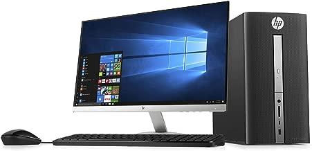 HP Pavilion Desktop w/23 FHD IPS Monitor Bundle, 7th Gen Intel Core i3 7100 3.9GHz, 32GB RAM, 512GB NVMe SSD + 1TB HDD, AC WiFi, BT 4.2, DVD-RW, 3 in 1 SD Card Reader, USB 3.0, USB C, Windows 10 Pro
