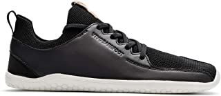 vivobarefoot Primus Knit, Mens Leather Premium Lifestyle Shoe, with Barefoot Sole