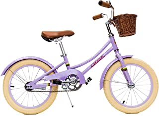 ACEGER Kid's Bike for Girls with Basket, 14 inch with Training Wheels/16 inch with Kickstand
