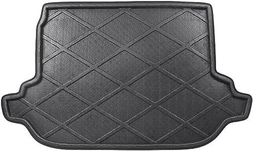 2021 Mallofusa discount Cargo Liner Rear Cargo Tray online Trunk Floor Mat Compatible for Subaru Forester 2013 2014 2015 2016 2017 Black online sale