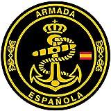 Artimagen Pegatina círculo Armada Española ø 50 mm.