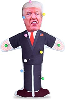 7.9 inch Donald Trump Voodoo Doll Pin Holder -0.24 inch Round Head with Stainless Point, Box of 180, Assorted Colors