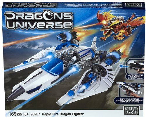 Mega Bloks 95207 Dragons Universe Rapid Fire Dragon