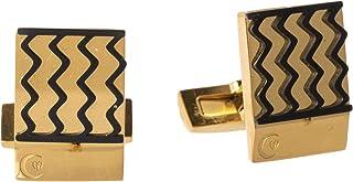 Diamond Moon Stainless Steel Cufflinks for Men, Stainless Steel - 1800541240437