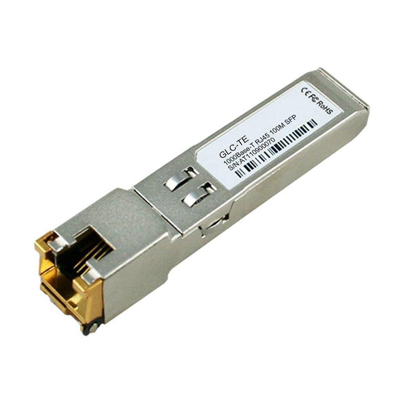 経験者信者ダーツLODFIBER GLC-TE CISCO対応互換 RJ45 1000Base-T 銅SFP トランシーバーモジュール