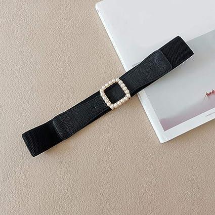 asp donna cintura con fibbia in perle cintura elastica larga elasticizzata  cinture per donna cinture per abito da sposa cinture da sposa, nero :  amazon.it: moda  amazon.it