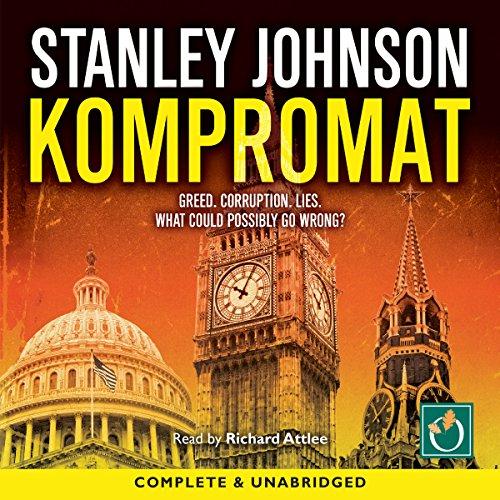 Kompromat audiobook cover art
