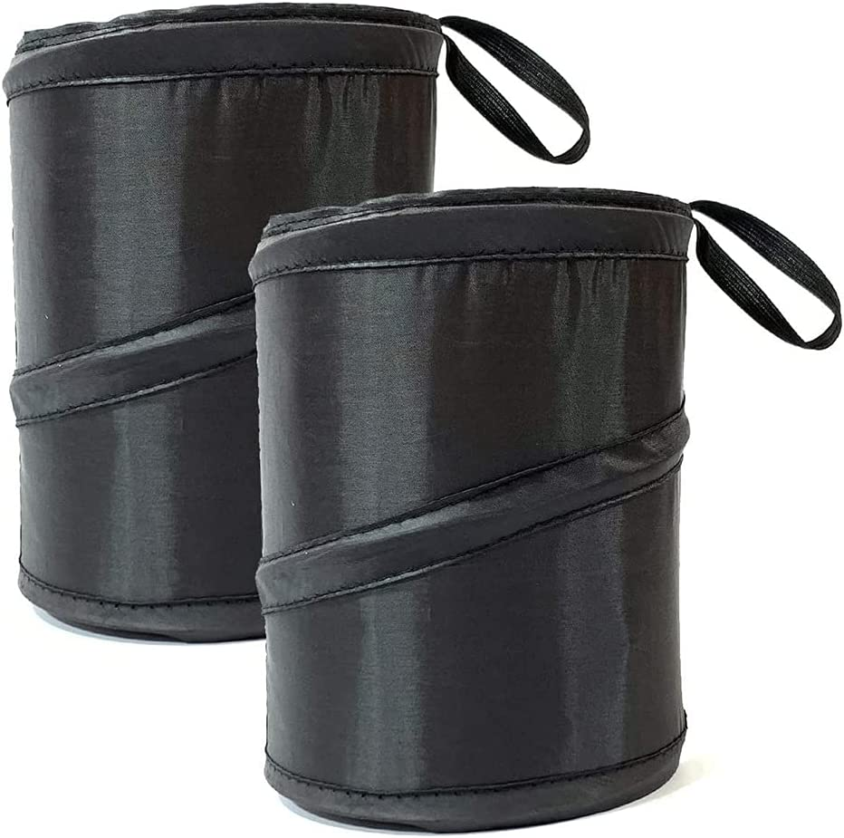 DEI QI 2 Pack Manufacturer direct delivery Car Can Trash Multipurp Collapsible Surprise price Bin