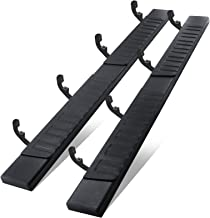 6 Inches Running Boards& Steps Nerf Bars Compatible with...