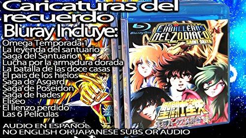 Caballeros del Zodiaco Coleccion Completa en Español Latino DVD O BLURAY (Bluray)