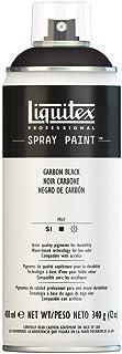 Liquitex Professional - Acrílico en spray, 400ml, negro carbon