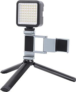Invullichtset voor mobiele telefoon, met een statief Draagbare invullichtbeugel voor mobiele telefoons, voor selfie/make-u...