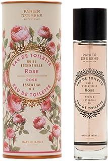 Panier des Sens Eau de Toilette, Perfume, Rose - Made in France - 1.7 Floz/50ml