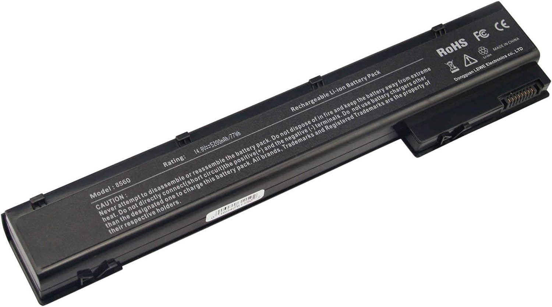 ARyee 8570w Battery overseas Houston Mall Laptop for HP 8570W 87 8560W 8760W Elitebook
