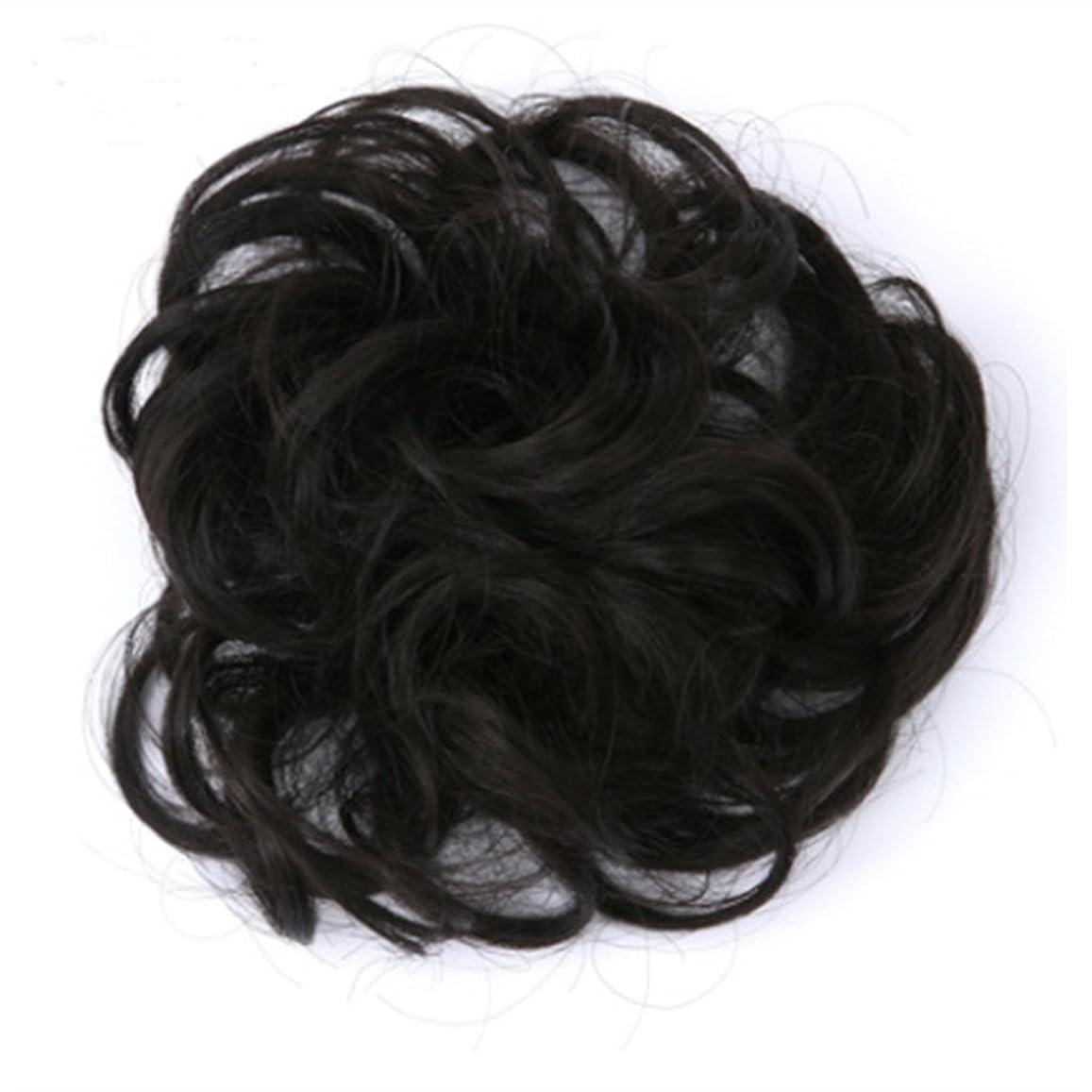 確認売上高気をつけてKoloeplf 3.5cm、30g化学繊維のヘアエクステンションピースナチュラルカラーカーリーヘアメッシーヘアリング直径 (Color : GS-Q52#)
