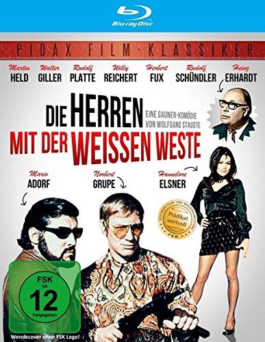 Die Herren mit der weissen Weste (Wunderbare Krimikomödie mit absoluter Starbesetzung in brillianter HD-Abtastung) (Pidax Film-Klassiker) [Blu-ray]