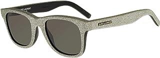 Saint Laurent - Gafas de Sol SL 51 Silver Glitter/Grey 50/22/140 hombre