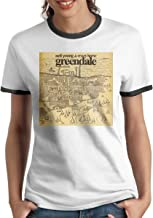 Neil Young Crazy Horse Greendale Classic Round Neck Woman's Short Sleeve T-Shirt