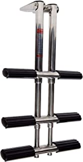 featured product Amarine-made Heavy Duty 3 Steps Boat Marine Dual Vertical Telescoping Tube Stainless Steel Sport Diver Ladder - 3 Steps - 1084