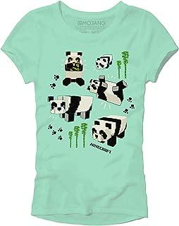Minecraft Panda Party Girls' Tee Shirt