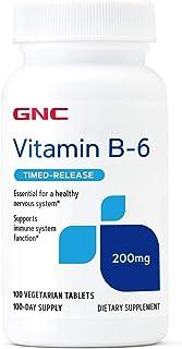 GNC Vitamin B-6 Time Release 200 mg