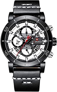 ナイトフォース・クロノグラフ・スポーツ・マンは、トップブランド高級軍隊軍日付クォーツ・メンズ腕時計