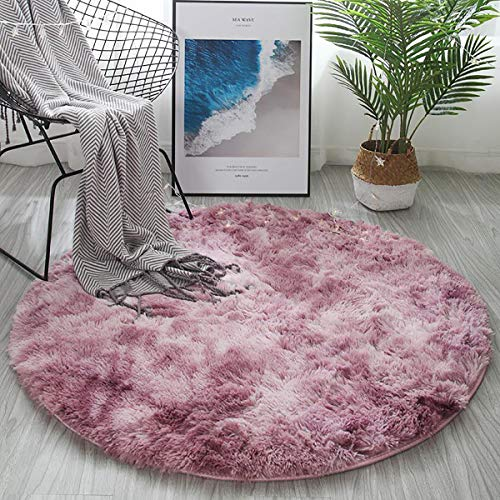 %20 OFF! CoCocina 120Cm Round Floor Mat Soft Plush Carpet Blanket Area Rug Cushion Home Decorations ...