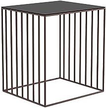 Bedside Table Bedside Table, Modern Minimalist Rack Home Display Corner Cabinet Wrought Iron Bedside Table, Suitable for L...