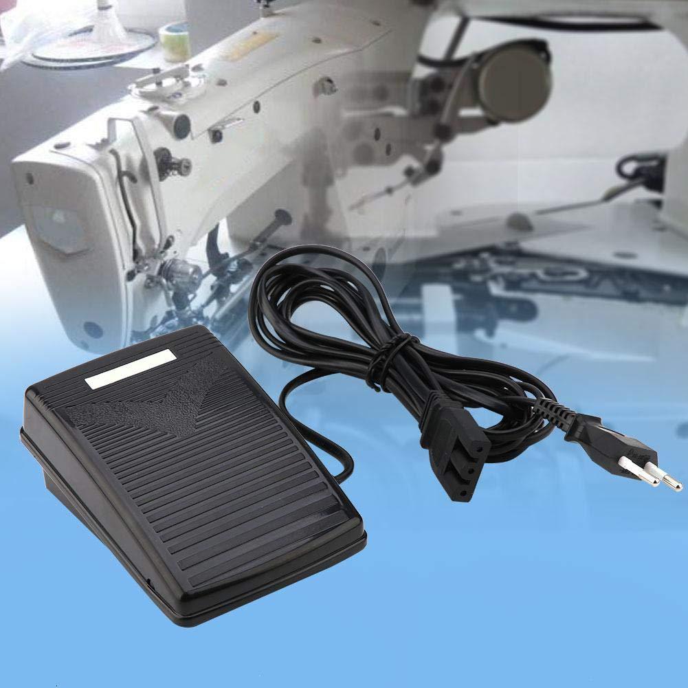 Pedal de máquina de coser, 220 V, Pedal de control de velocidad ...